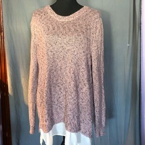 Lb long sleeve sweater. 18/20. exc con